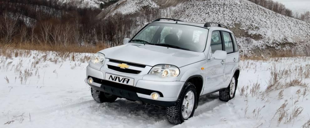 Chevrolet NIVA. Тест-драйв побездорожью